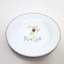 Pottery Barn  Set of 3 Reindeer Dancer, Vixen & Dasher Dessert Salad Plates - $33.66