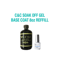 C&C Soak Off Gel Base 8oz Refill - $69.29