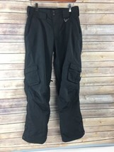 Sims Womens Snowboard Pants S Small Black Ski Insulated Snow - $49.45