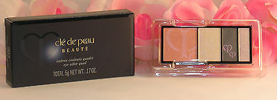 Primary image for New Shiseido Cle De Peau Beaute Eye Shadow Quad Refill #203 Colors & Highlights