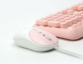 iRiver Bubble IR-M10 USB Wired Mouse 2000 DPI Adjustment Ergonomic (Baby Pink) image 3