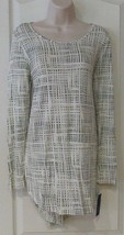 Apt. 9® Essential High-Low Print Tunic White Women's Sz S NWT MSRP$26 - $17.29