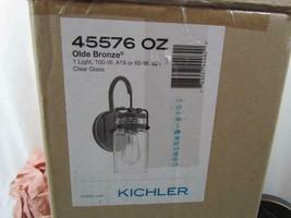 NIB Kichler Lighting 45576 OZ Brinley Wall Sconce Olde Bronze - $113.99