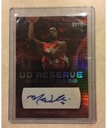 2006-07 NBA UD Reserve Signatures RA-MW Marvin Williams Card Certified A... - $5.00