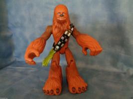 "2004 Hasbro Star Wars Chewbacca Lucas Film 7"" Poseable Figure - $4.70"