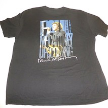 PAUL McCARTNEY XL 2010 Up and Coming Concert Tour 2 Sided Graphic T-Shir... - $19.75