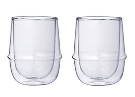 Double-Walled Kinto KRONOS Cup - Maintains Temp - Prevents Condensation ... - $32.66