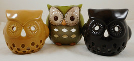 Set of 3 Owl Tealight Candle Holders - $9.89