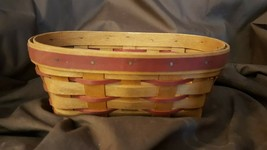 Longaberger 1995 Sweetheart Be Mine Oval Basket - $9.99