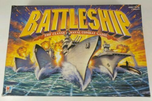 Primary image for BATTLESHIP Board Game 2002 Milton Bradley CLASSIC NAVAL COMBAT
