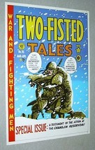 EC Comics Two-Fisted Tales 26 war comic book cover art portfolio poster: 1970's - $39.99