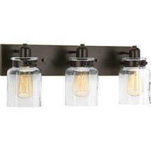 Progress Lighting Calhoun 21 in. 3-Light Antique Bronze Bathroom Vanity ... - €69,39 EUR