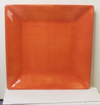 Tabletops Gallery Corsica Plate 10 Inch Square Orange - $18.81