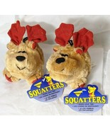 """2 Booda Squatters Moose-Med Squeaky Dog Toy Small to Medium Pet  6"""" height - $9.79"""