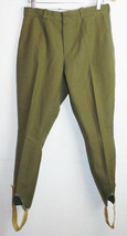 Vintage Soviet Army Breeches Pants Trousers Russian Officer Uniform VTG ... - $14.85