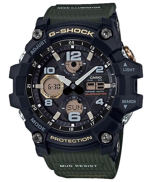 Casio G-Shock Master of G Series Mudmaster Watch GSG100-1A3