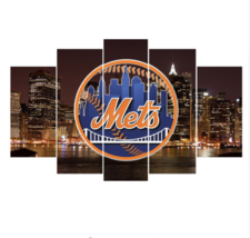 5 Pieces Mets Canvas Prints Painting Wall Art P... - $36.99 - $126.99