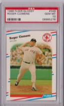 1988 Fleer Glossy Roger Clemens #349 PSA 10 P656 - $15.45