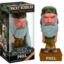 Duck Dynasty Phil Robertson Talking Bobblehead FUNKO NIB - $18.55