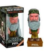 Duck Dynasty Phil Robertson Talking Bobblehead FUNKO NIB - $18.55