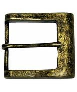"Square Heel Bar Single Prong Center Bar Belt Buckle 1-1/2"" (38mm) wide - $8.95"
