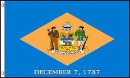 3x5 Delaware Flag 3'x5' House Banner grommets super polyester - $16.00
