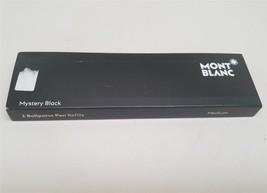 "Montblanc 2 Ballpoint Pen Refill Medium Mystery Black 116190 ""Open box"" - $12.99"