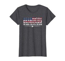 Brother Shirts - Grandkids The Man The Myth The Legend Shirt USA Flag Gifts Wowe - $19.95+