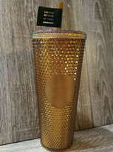 Starbucks Studded Tumbler Copper 50th Anniversary 24oz Limited Edition S... - $98.98
