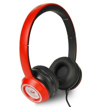 Monster N-Tune High Performance On-Ear Headphones w/3.5mm Plug(Red/Black) - $42.86