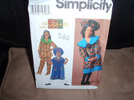 Simplicity 7367 Design by Shanti Africa Outfit Dress, Top, Pants and Hat Size 5  - $10.00