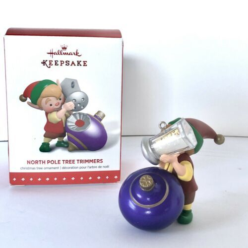 Hallmark Keepsake Ornament 3rd In The North Pole Tree Trimmers Series 2015 New image 3