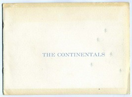 1955 The Continental Mark II Debut Booklet Letter & Invitation History E... - $321.42