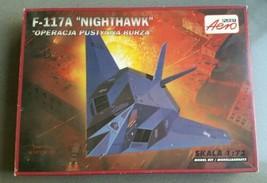 Model Aero Plast F-117A Nighthawk 1/72 Plastic Kit US Air Force Stealth - $10.99