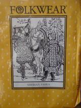 Pattern FOLKWEAR 153 Siberian Parka Men's & Women's Sizes XSM-XLG New Uncut - $8.99