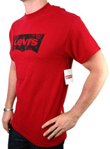 NEW NWT LEVI'S MEN'S PREMIUM CLASSIC  COTTON T-SHIRT SHIRT TEE RED
