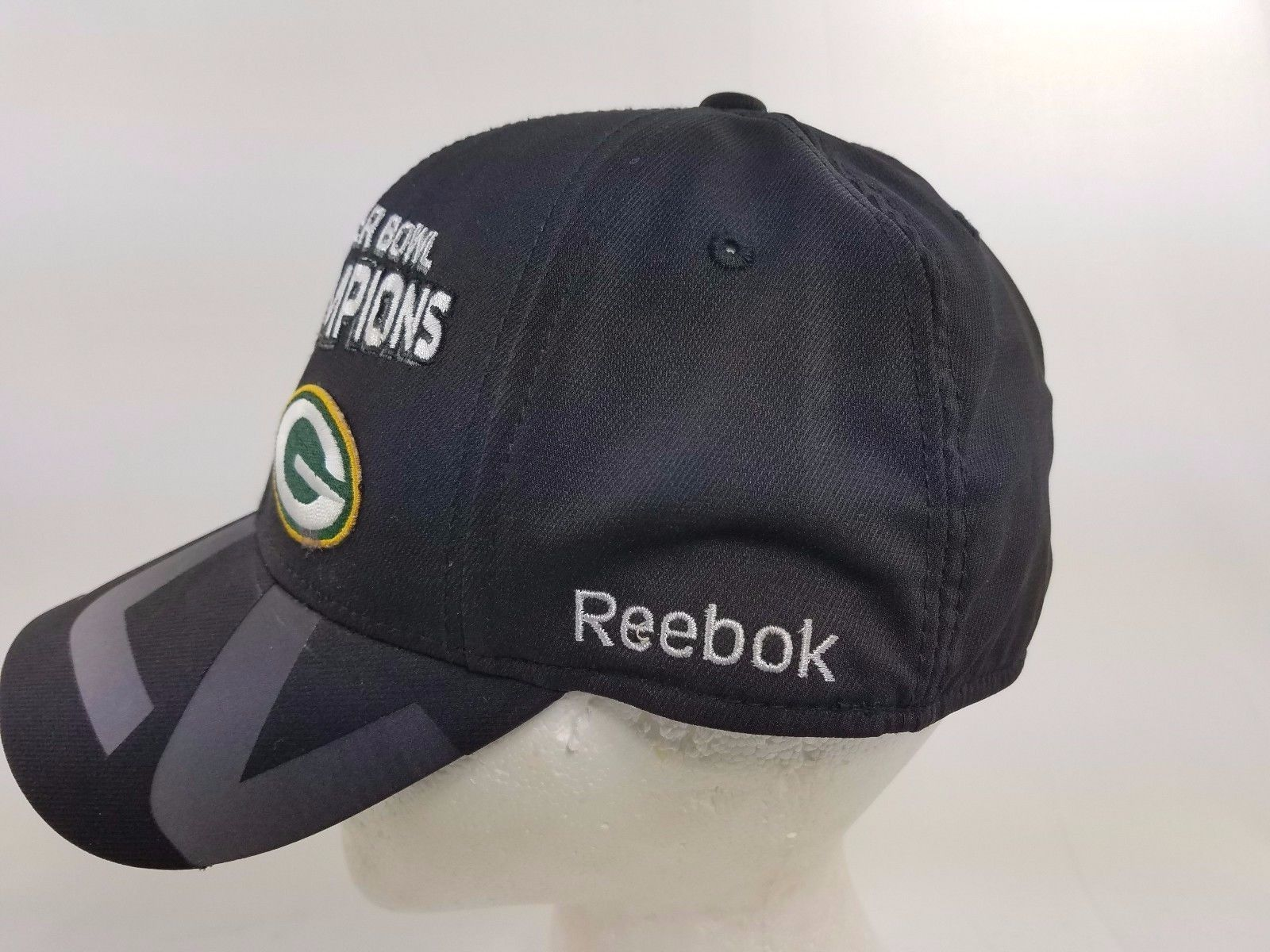 ... NFL Reebok Super Bowl XLV Champions Green Bay Packers Cap Hat one size  fits all ... c28cbf751
