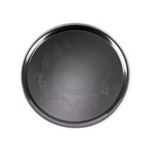 Black 18 Inch Deli Mate Plastic Trays/Set of 25 - $104.16