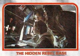 1980 Topps Star Wars Empire Strikes Back Red Cards THE HIDDEN REBEL BASE... - $3.91