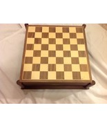 History Channel Life Member Civil War Chess/Game Set - $99.00