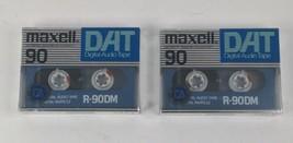 **Maxell R-90DM DAT Tapes**  Brand  Sealed - DAT = Digital Audio Tape - $29.99