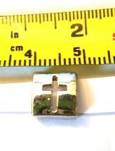 Alphabet Metal Ribbon Slip Bead For Bracelet, Necklace, Crafts image 13
