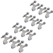 12-pack Hinge Pin Satin Nickel Heavy Duty Door Stops - 12 High Quality Hinge Pin