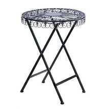 Home Locomotion Fleur-De-Lis Patio Table - £70.77 GBP