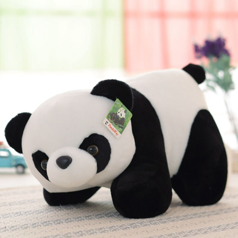 1pcs 18 70cm Panda Plush Toy Cute Panda Stuffed Soft Doll Baby Kids Toy Gift For