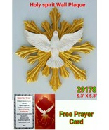 "Holy Spirit DOVE WALL PLAQUE ESPÍRITU SANTO 5.3"" Confirmation Gift Hand ... - $13.86"