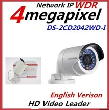 Original English Hikvision DS-2CD2042WD-I (4mm) 4MP POE IR Bullet Networ... - $86.06