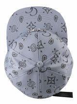 Crooks & Castles Men's Cement Monogram C Woven Strapback Baseball Hat Cap NWT image 6