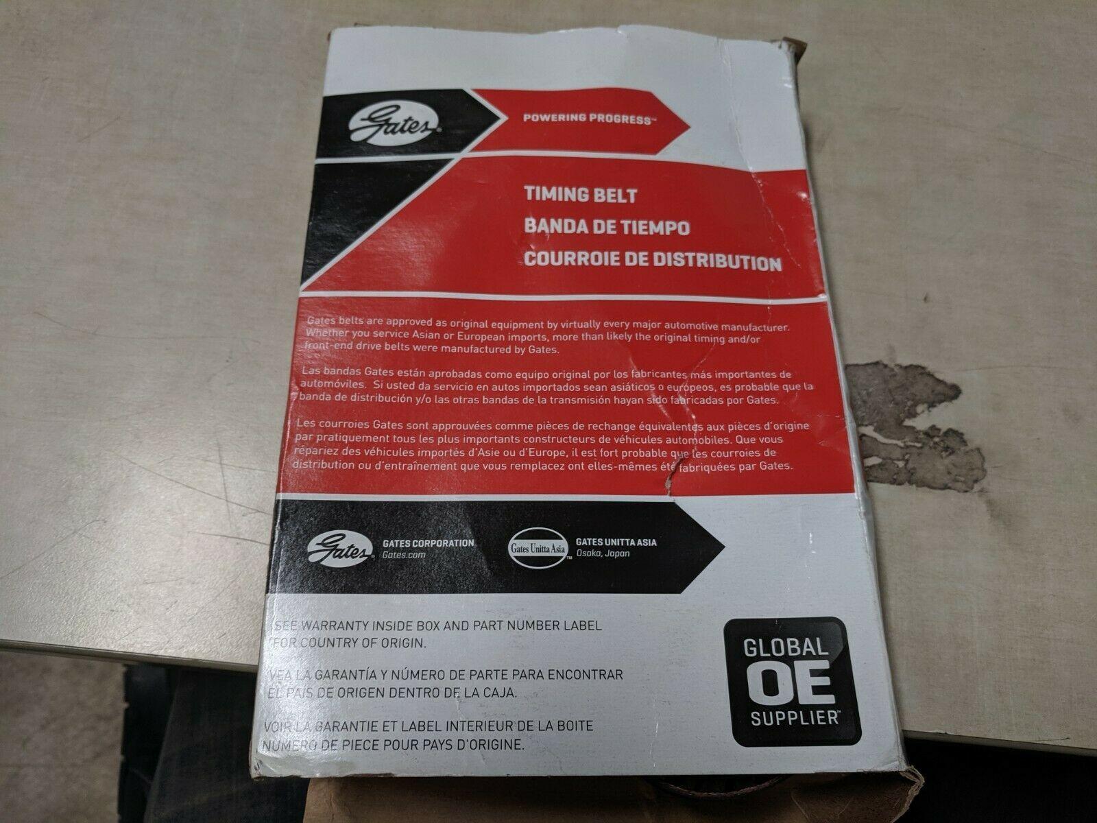 Engine Timing Belt-PowerGrip Premium OE Timing Belt Gates T244 image 4