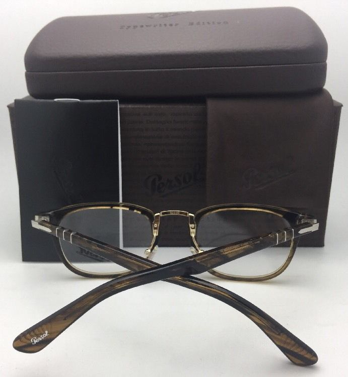 7dc113f8902b2 New PERSOL Eyeglasses 3126-V 24 50-22 145 and 50 similar items